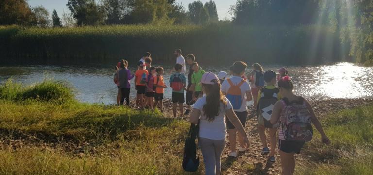GAIA, en colaboración con la Fundación Biodiversidad, desarrolla un programa de voluntariado ambiental para más de 90 niños de entre 8 y 11 años en la provincia de Badajoz
