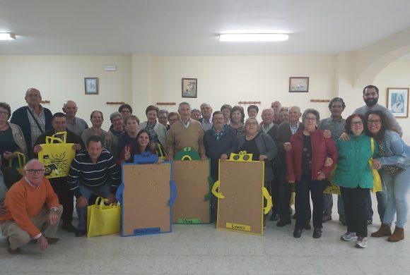 GAIA, de la mano del Consorcio de Gestión de Servicios Medioambientales de la Diputación de Badajoz, Promedio, continúa desarrollando un Programa de Sensibilización Ambiental de Reciclaje para Mayores en las localidades de la Garrovilla, Torremayor y Valdelacalzada